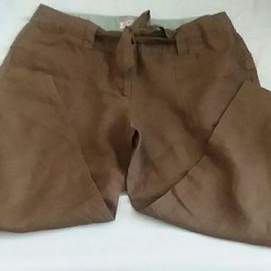 Old Navy, khaki, linen pants